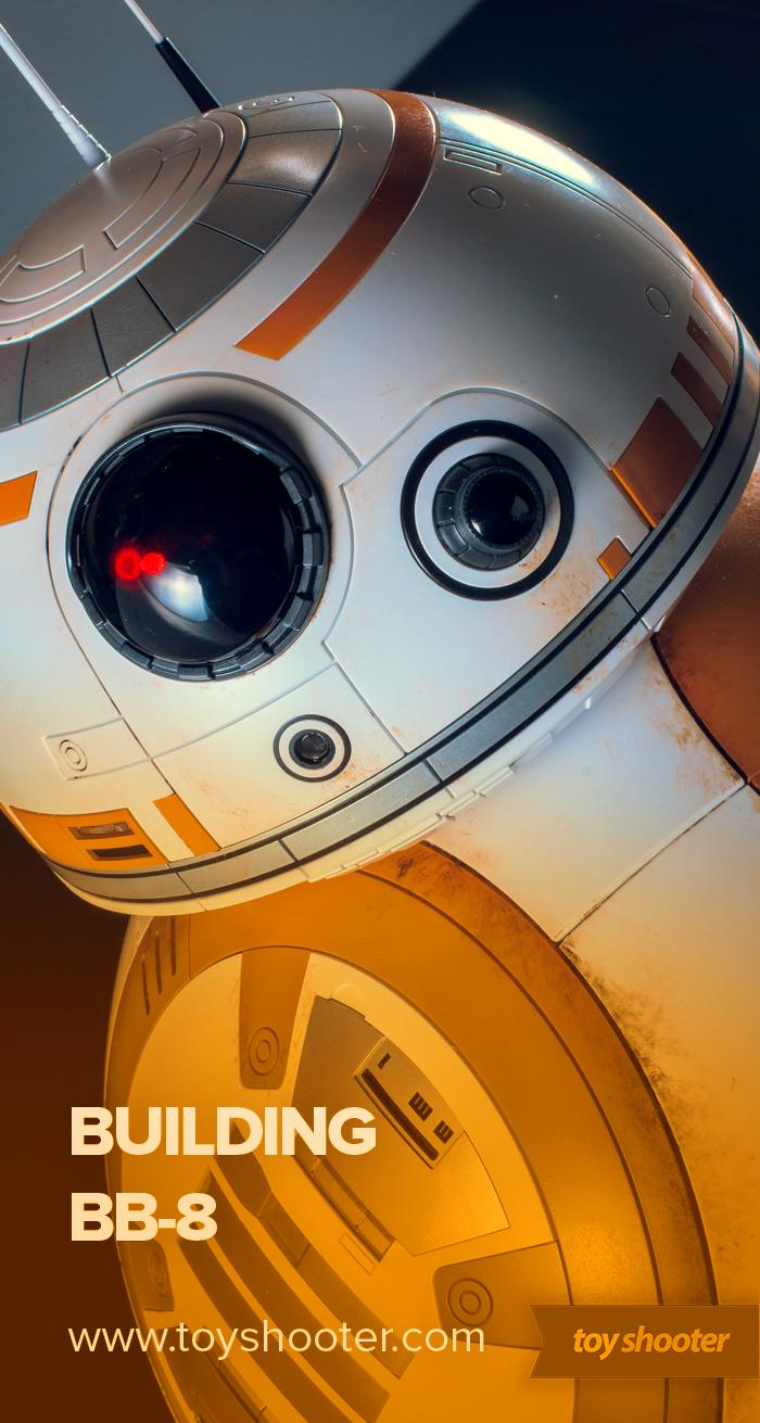 Build log of Bandai's most fun kit to date, the colossal 1:2 scale BB-8!